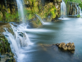 Falls Creek Falls along the Snake River in Idaho has become a favorite of photographers who travel off the beaten path