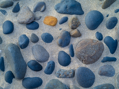 Rock Patterns onBeach