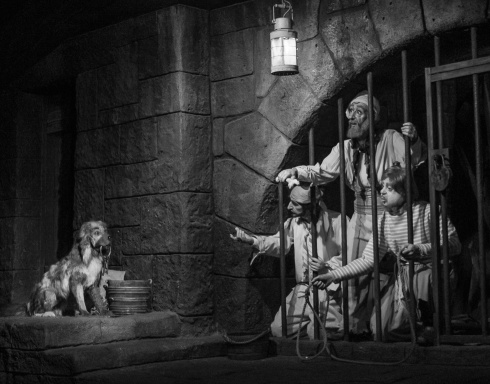 One of the classics scenes in the boat ride through the fantastic Pirates of the Caribbean