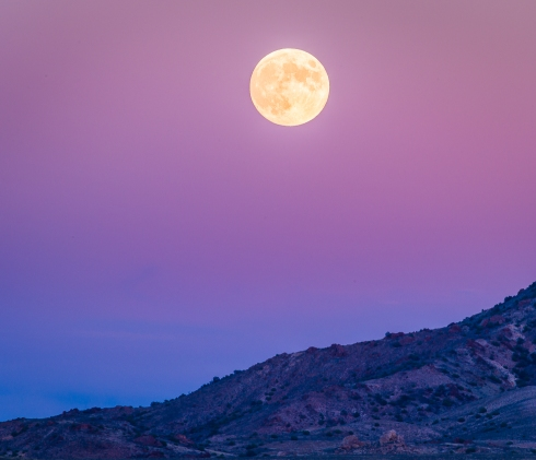 Nevada Moonrise