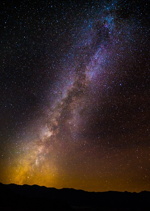 The majesty of the Milky Way in the skies above Death Valley National Park