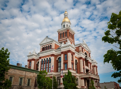 The 1891 Dubuque, Iowa courthouse is a historical gem